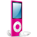 iPod Nano pink on Icon