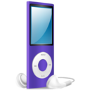 iPod Nano purple on Icon