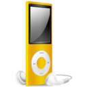 iPod Nano yellow off Icon