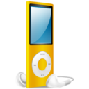 iPod Nano yellow on Icon