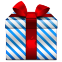 128x128px size png icon of Present