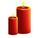 128x128px size png icon of Candles
