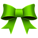 Ribbon Green Icon