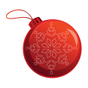 128x128px size png icon of Christmas Bauble