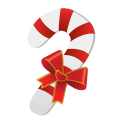 128x128px size png icon of Christmas Candy Cane