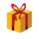 128x128px size png icon of Christmas Gift Box