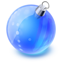 128x128px size png icon of christmas ball