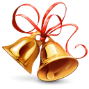 128x128px size png icon of Bell