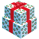 128x128px size png icon of gifts 2