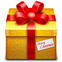 128x128px size png icon of gift 3