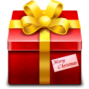 128x128px size png icon of gift