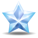 128x128px size png icon of star 2