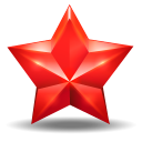 128x128px size png icon of star 3
