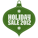 128x128px size png icon of Holiday sale 2012