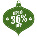 128x128px size png icon of upto 36 percent off