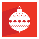 128x128px size png icon of Bauble