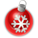 128x128px size png icon of Christmas Ornament 1