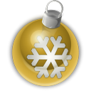 128x128px size png icon of Christmas Ornament 2