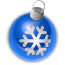 128x128px size png icon of Christmas Ornament 3