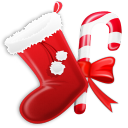 128x128px size png icon of Stocking