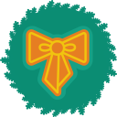 128x128px size png icon of bow