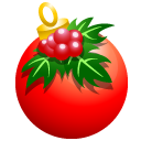 128x128px size png icon of Crhistmass ball