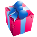 128x128px size png icon of Gift box