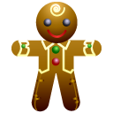 128x128px size png icon of Ginger man