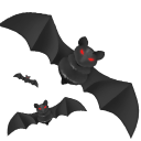 128x128px size png icon of Bats