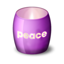 128x128px size png icon of Glass Candle