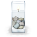 128x128px size png icon of Water Candle