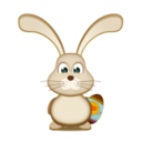 128x128px size png icon of easter Bunny EGG