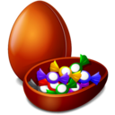 128x128px size png icon of Easter Egs