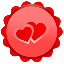 128x128px size png icon of Heart Inside