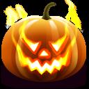 128x128px size png icon of Jack O Lantern