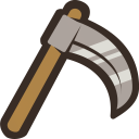 128x128px size png icon of Sickle