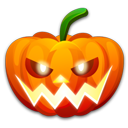 128x128px size png icon of Halloween nervous