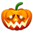 128x128px size png icon of Halloween shame