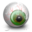 128x128px size png icon of Eye
