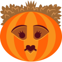 128x128px size png icon of Pumpkin Queen