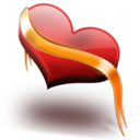 128x128px size png icon of Heart