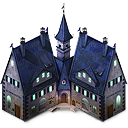 128x128px size png icon of Haunted Hotel