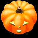 128x128px size png icon of Jack o lantern 2