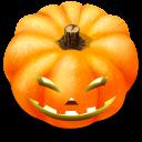 128x128px size png icon of Jack o lantern 4