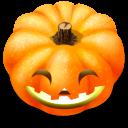128x128px size png icon of Jack o lantern 6