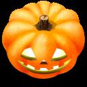 128x128px size png icon of Jack o lantern 9