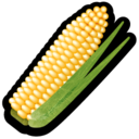 128x128px size png icon of Corn
