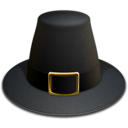 128x128px size png icon of Pilgrim Hat