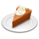 128x128px size png icon of Pumpkin Pie