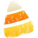 128x128px size png icon of Candy Corn